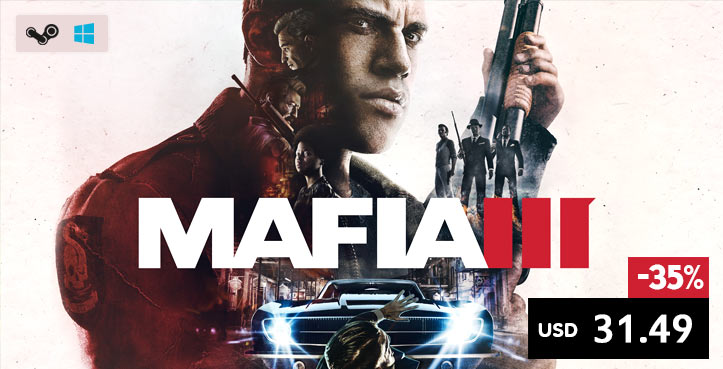 SCDkey Mafia 3 Steam CD Key