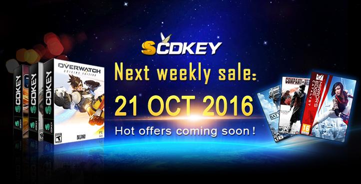 SCDKey Weekly Sale
