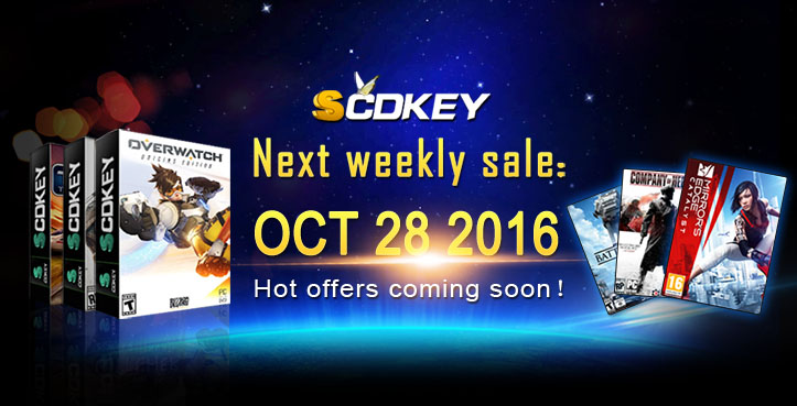 SCDKey Weekly Sale