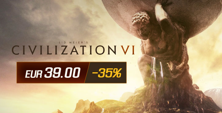 SCDkey Civilization VI Steam CD Key