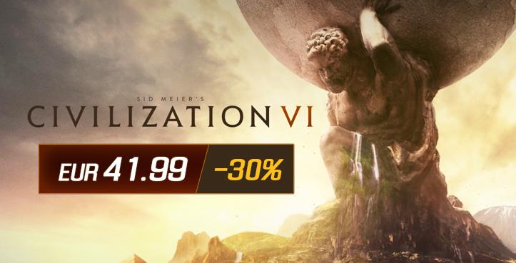 SCDkey Civilization VI Steam CD Key