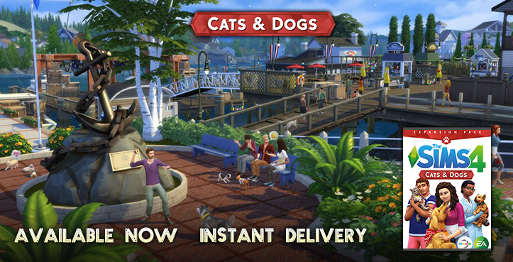 SCDKEY The Sims Cats and Dogs