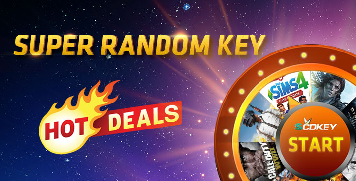 SCDKEY SUPER RANDOM KEY