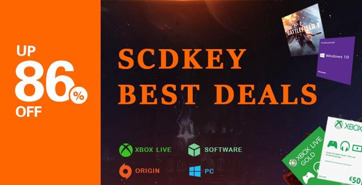 SCDKEY Best Deals