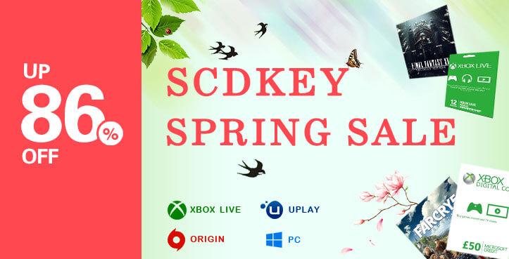 SCDKEY Spring Sale