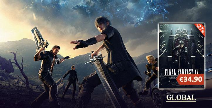 SCDKEY Final Fantasy xv