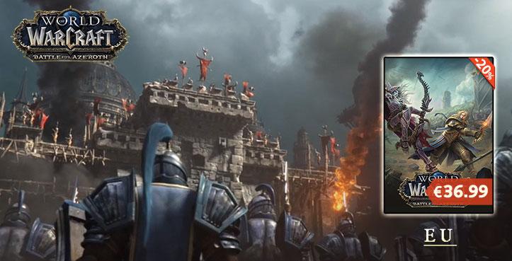 SCDKEY world of warcraft battle for azeroth
