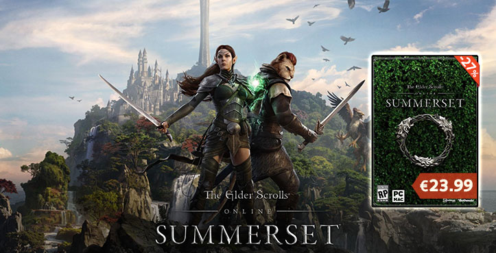 SCDKEY The Elder Scrolls Online Summerset