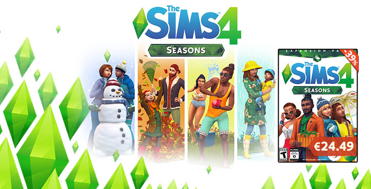 SCDKEY The Sims 4 Seasons DLC Key Global