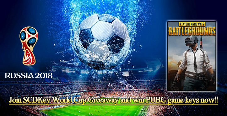 SCDKey World Cup Give away