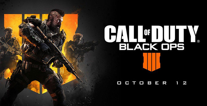 SCDKey Call of Duty Black OPS 4