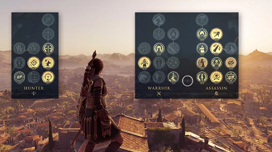 Assassin's Creed Odyssey Skillfully Improved The Origin Skill Tree
