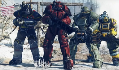 The multiplayer of Fallout 76 will let you nuke other people's bases