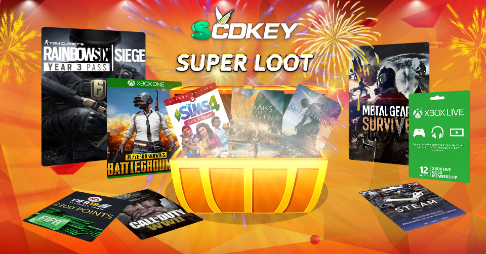 Lucky Store---Get AAA game keys with only 2.69EUR!!!