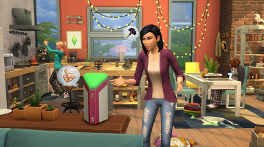 Lin-Z,The Sims 4's In-game Alexa-style Assistant