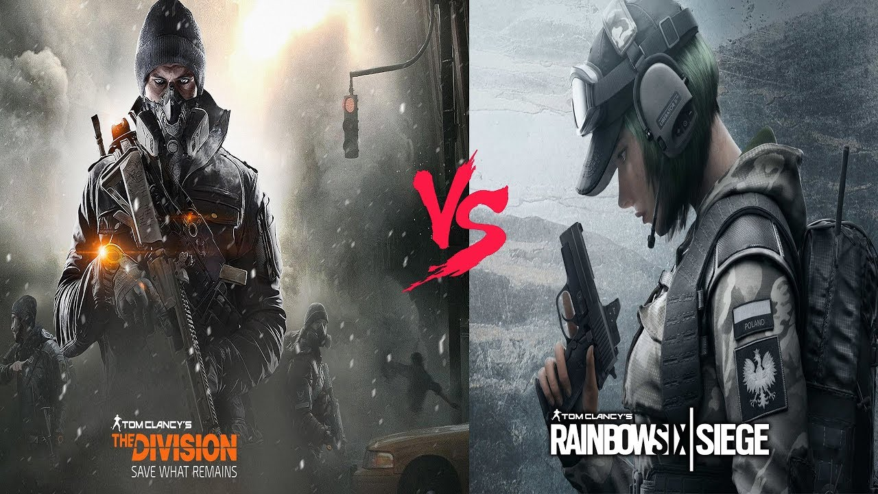 Division VS Rainbow Six,Which one is more worth playing?