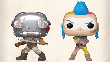 RAGE 2 releases Pair of Funko Pop!s