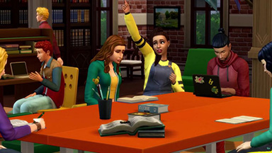 What can we know about The Sims 4 Discover University from it's new trailer?