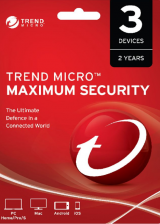 Official Trend Micro Maximum Security 3 PC 2 Years Key Global