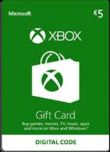 SCDKey.com, Xbox Live €5 Prepaid Card