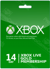 SCDKey.com, Xbox 14 Days Gold Membership