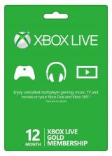 SCDKey.com, Xbox Live 12 Months Gold Membership Card Global