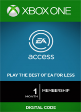 Official EA Access 1 Month Xbox One CD-Key
