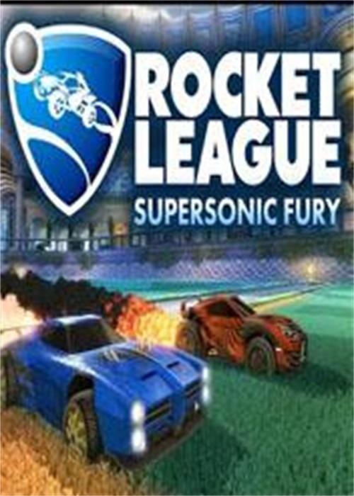 Rocket League Supersonic Fury DLC Pack