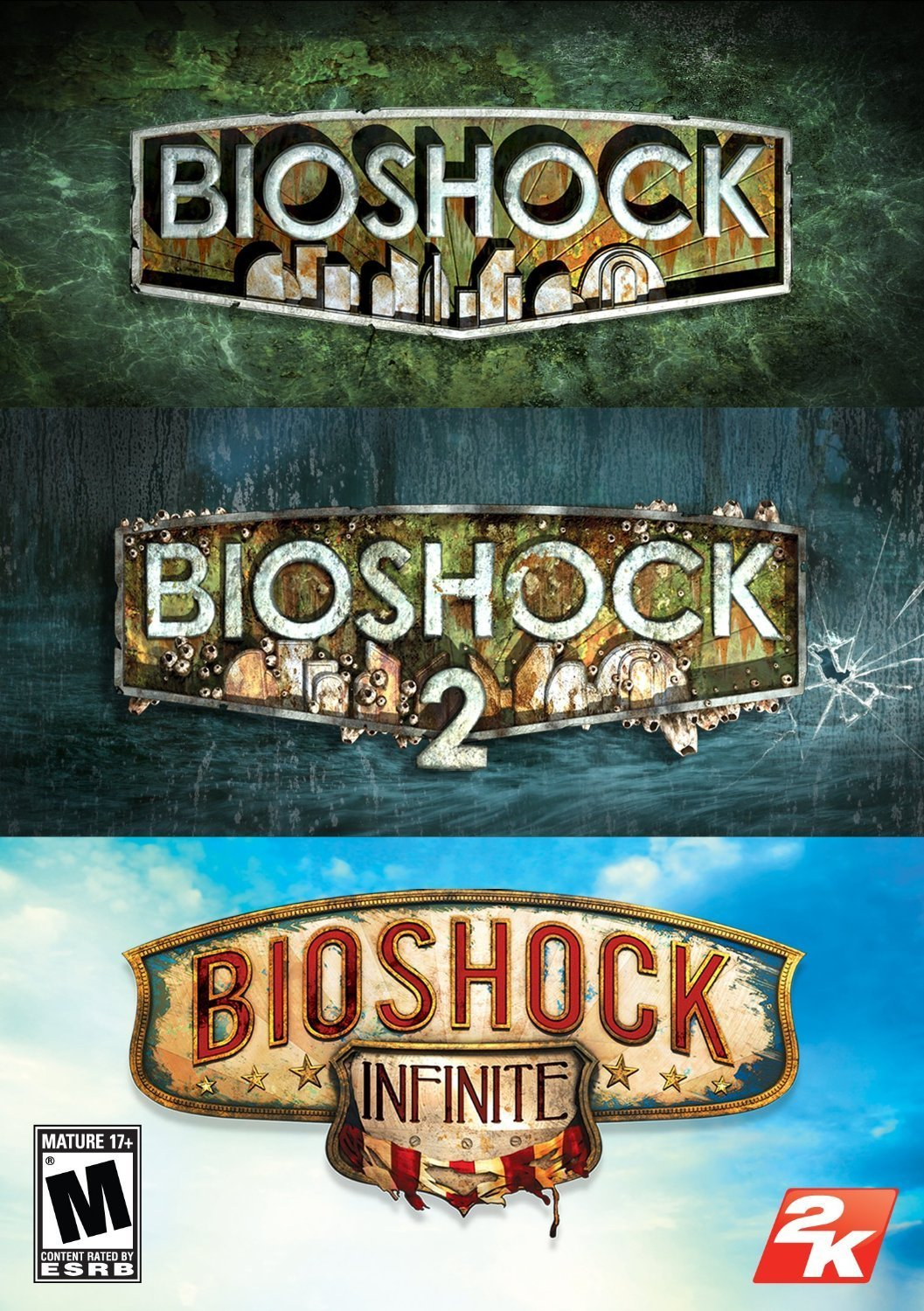 Bioshock Triple Pack STEAM CD KEY GLOBAL