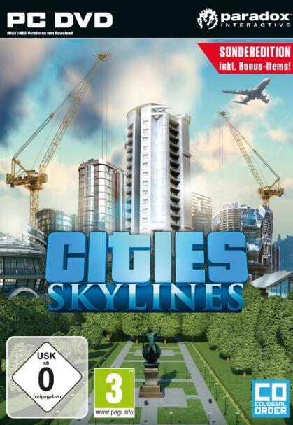 Cities Skylines STEAM CD-KEY GLOBAL