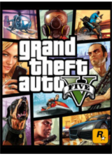 Official Grand Theft Auto V + Whale Shark Cash Card Rockstar CD Key