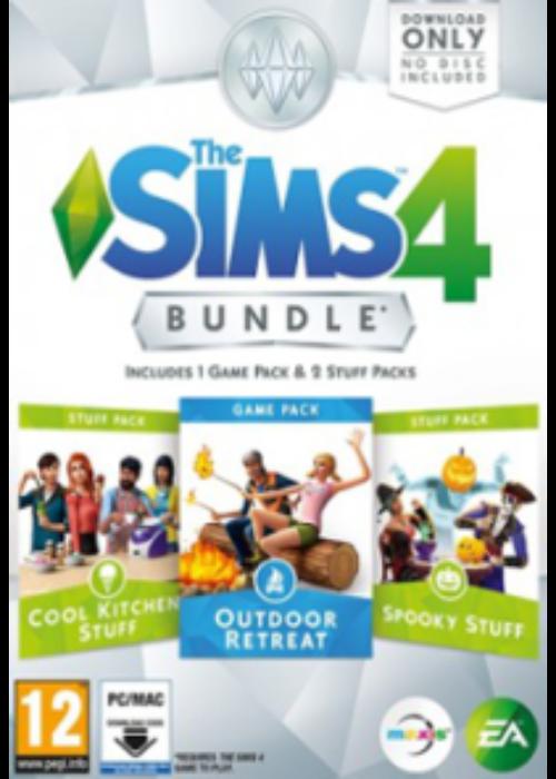 The Sims 4 Bundle Pack 2 DLC Origin CD Key