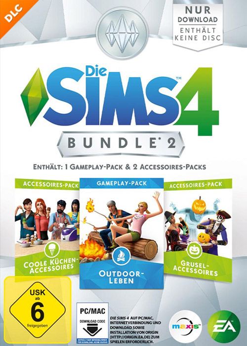 Die Sims 4 Bundle Pack 2 DLC Origin CD Key