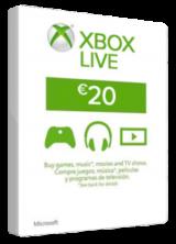 SCDKey.com, XBOX Live 20 EURO Card