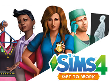 SCDKey.com, The Sims 4 Get To Work Origin CD Key