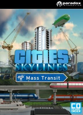 Cities Skylines Mass Transit Steam CD Key