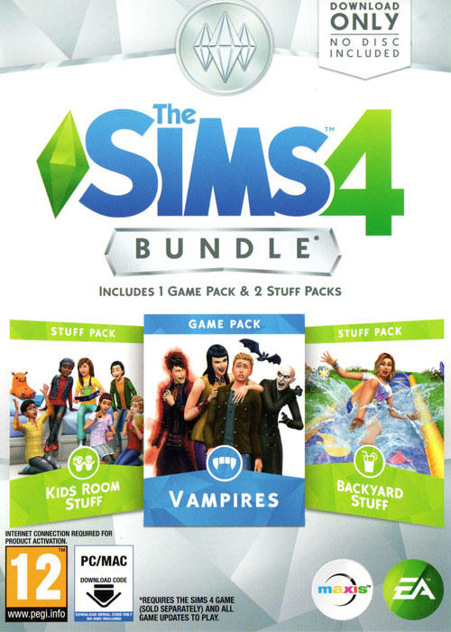 The Sims 4 Bundle 4 DLC Origin CD Key