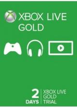 Official Xbox Live Gold 2 Days Trial Code Global