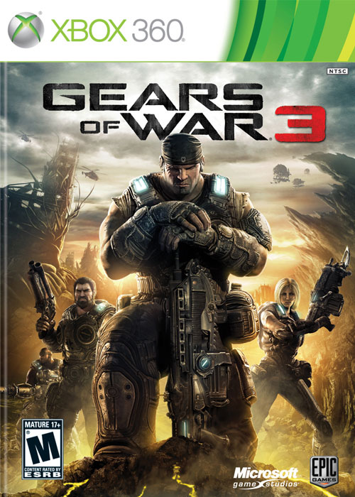 Gears Of War 3 XBOX 360/ONE CD Key GLOBAL