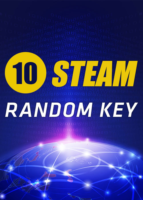 10 Steam Random Keys Global