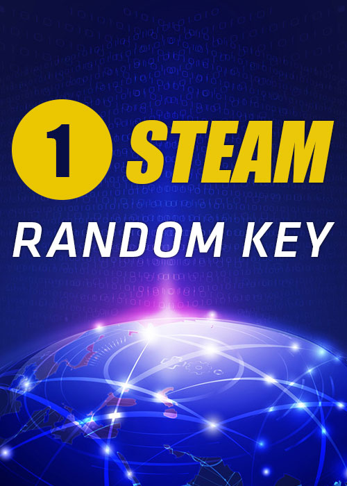 1 Steam Random Key Global
