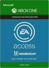 SCDKey.com, EA Access 12 Months Xbox One CD Key