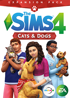 The Sims 4 Cats And Dogs DLC Origin CD Key Global