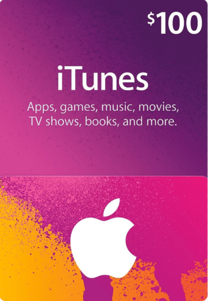 Apple iTunes Gift 100 USD
