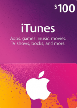 SCDKey.com, Apple iTunes Gift 100 USD