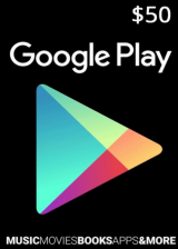 Official Google Play Gift 50 USD