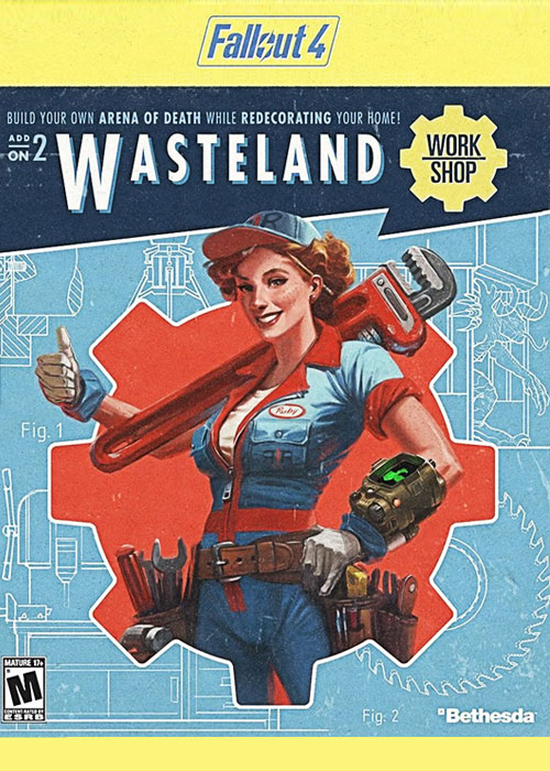 Fallout 4 Wasteland Workshop DLC Steam CD Key