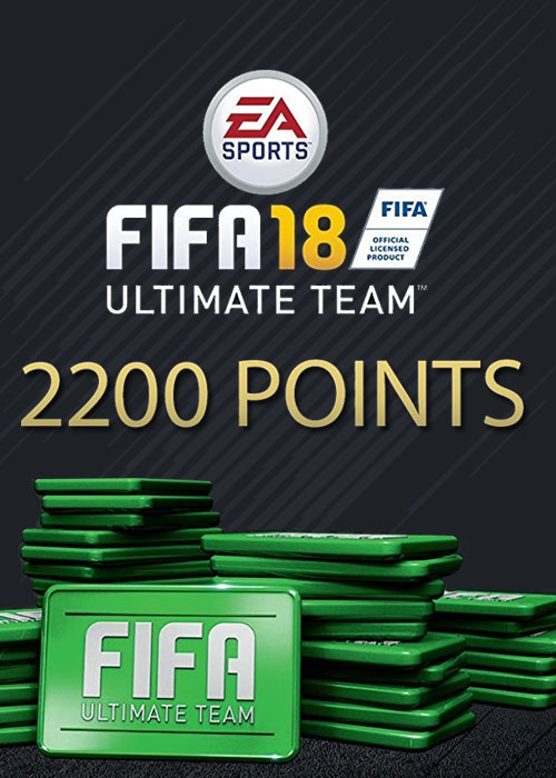 FIFA 18 2200 FUT Points DLC Origin Key Global PC