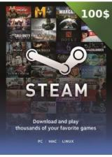 SCDKey.com, Steam Gift Card 100 USD
