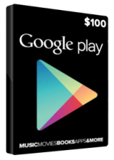 SCDKey.com, Google Play Gift 100 USD